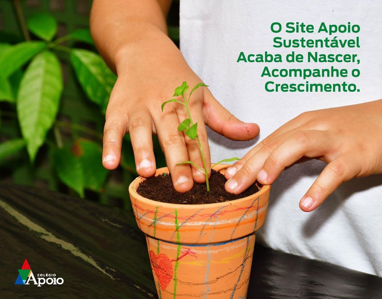 Site Apoio Sustentável.